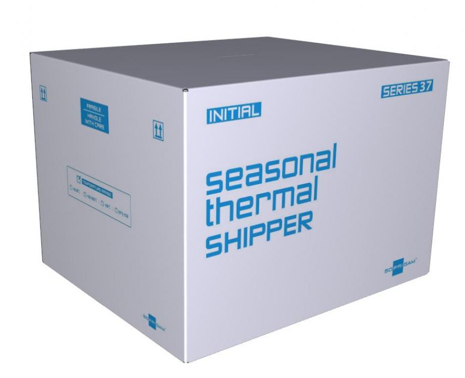 Initial Express insulated shipping packaging