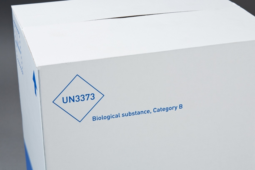 UN3373 Packaging for clinical trial transport