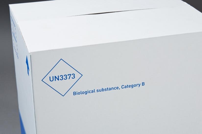 Emballages UN3373 pour le transport des essais cliniques
