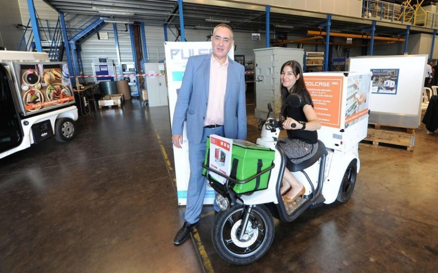 "They want to revolutionize deliveries with their ""greener"" refrigeration technology."